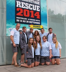 The Retford team after competing at Rescue 2014 in Montpellier, France